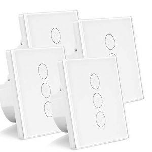 WLAN-Lichtschalter im 4er Pack